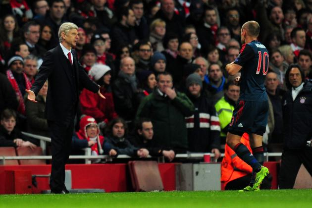 Paper News and Gossip: Wenger Slams Robben, Fabregas Tells Mourinho to 'Shut Up'