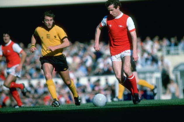 50 Years of Arsenal Home Kits from 1964 to 2014