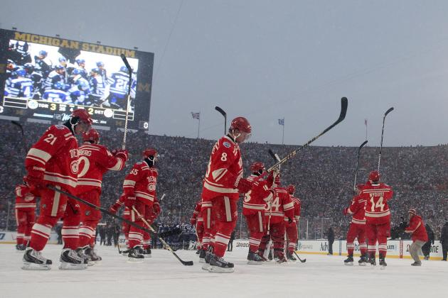 Ranking the 5 Best Moments from Detroit Red Wings' 2013-14 Season so Far