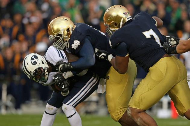 Notre Dame Football: Tracking 2014 NFL Combine Results for Former Irish Stars