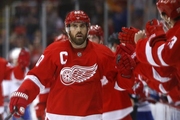 Ranking Detroit Red Wings' 5 Most Impressive Players in 2013-14