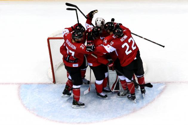 Canada vs. Sweden: Line-by-Line Breakdown of 2014 Olympic Gold-Medal Hockey Game