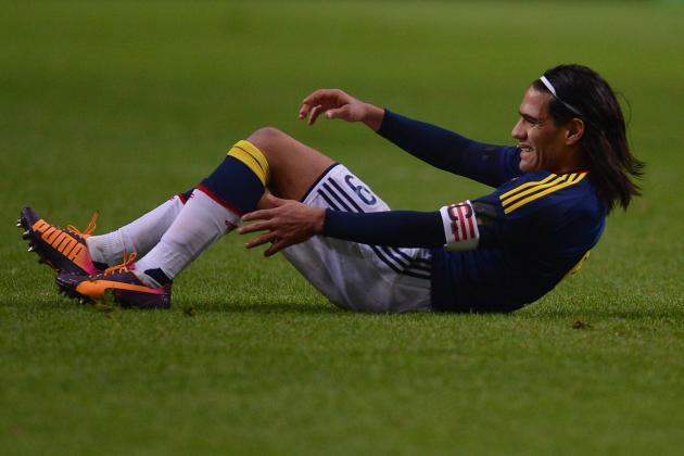 5 Players Colombia Will Look to in Place of Radamel Falcao