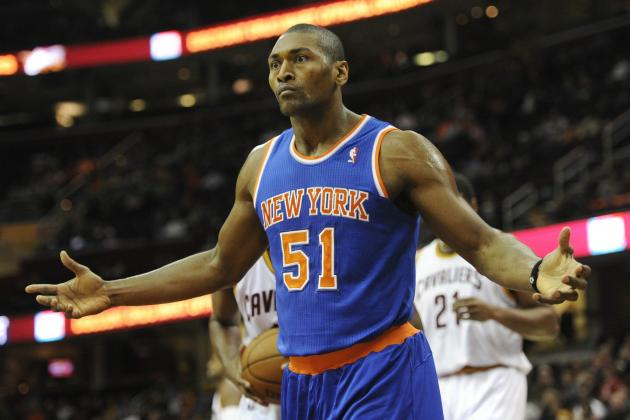 Best NBA Destinations for Metta World Peace After NY Knicks Buyout