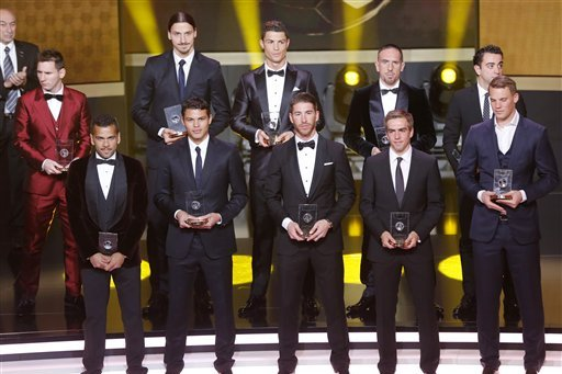 Best Dressed Players in World Football