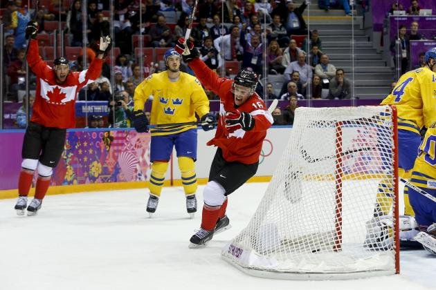 Ranking the 10 Best Hockey Plays of the 2014 Olympics