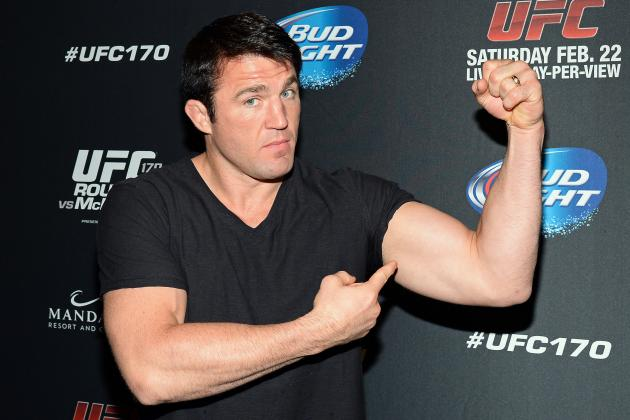 Chael Sonnen, Wanderlei Silva and the 5 Best TUF Coaches' Rivalries