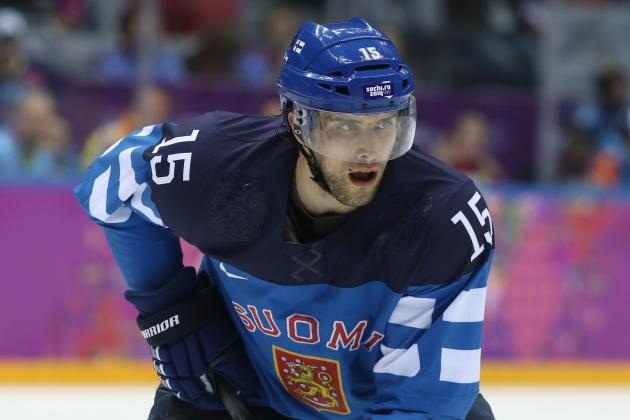 Final Grades for Each Carolina Hurricanes Player in 2014 Winter Olympics