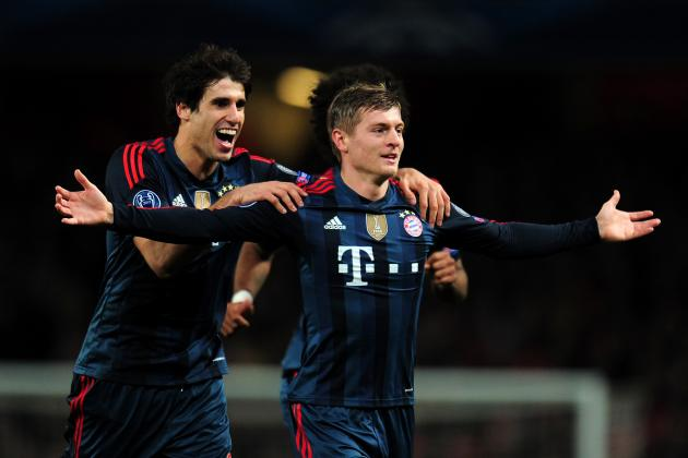 Toni Kroos and 20 Midfielders Manchester United Could Target