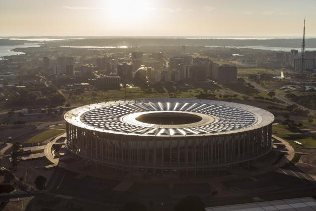 Latest Stunning Images of Brazil's 12 World Cup Stadiums