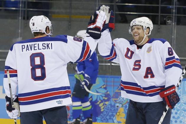 Projecting Team USA's Hockey Roster for the 2018 Winter Olympics