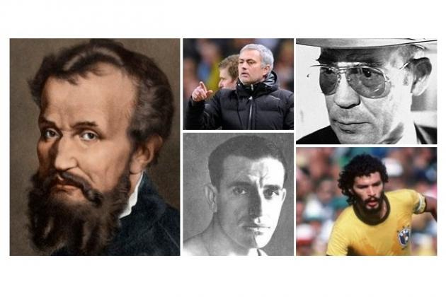 Imagining World Football Personalities as Historical Figures