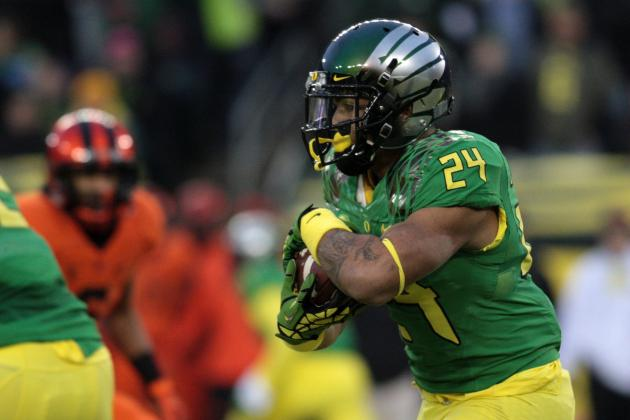 Power Ranking Top 5 Pac-12 RBs Pre-2014 Spring Practice