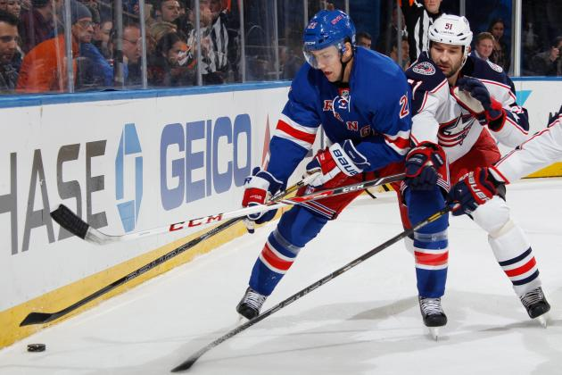 New York Rangers' 5 Biggest Games Remaining in the 2013-14 Season