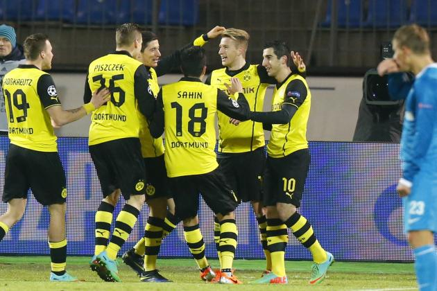 Zenit St. Petersburg vs. Borussia Dortmund: 6 Things We Learned