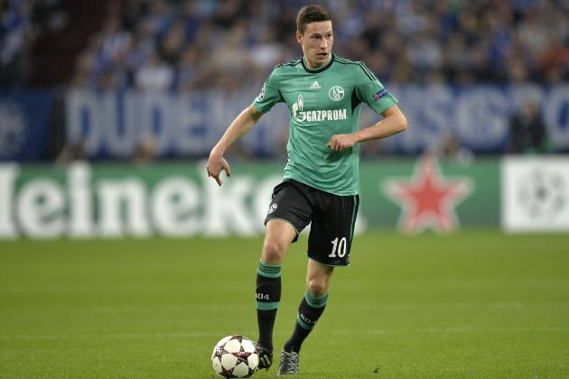 Top 5 Bundesliga Transfer Alternatives to Schalke's Julian Draxler