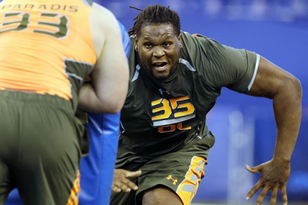 Tennessee Football: Complete NFL Combine Grades, Results for Former Volunteers