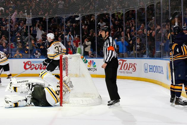 Report Card for the Boston Bruins' 1st Game After the Olympic Break