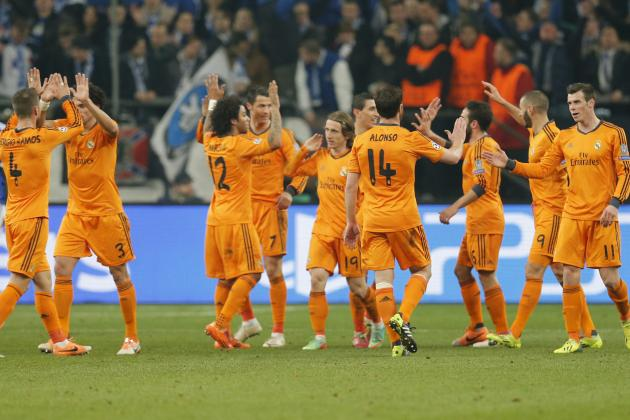 Champions League Team of the Week: Real Madrid Stars Dominate Lineup