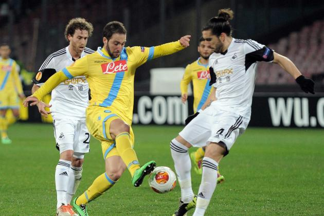Europa League Results: Analysis for Napoli vs. Swansea, and All the Matches
