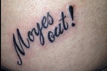 Moyes Out! and the Strangest Fan Tattoos