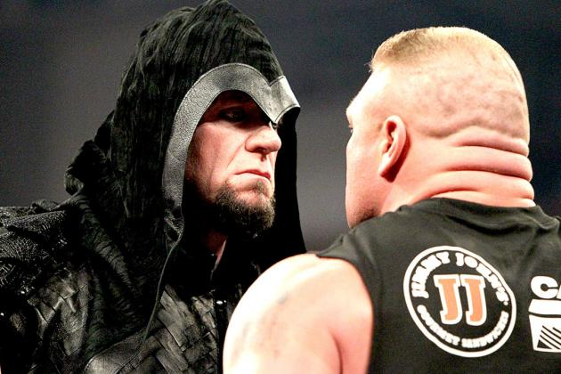 Pros and Cons of Undertaker's WrestleMania Match vs. Brock Lesnar