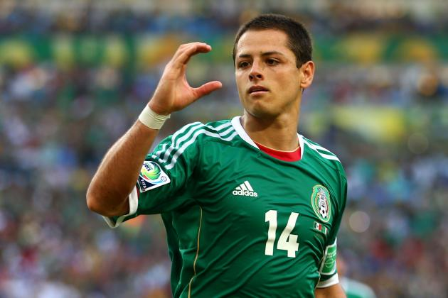 Where Javier Hernandez Ranks Alongside Mexico's 10 Best Strikers