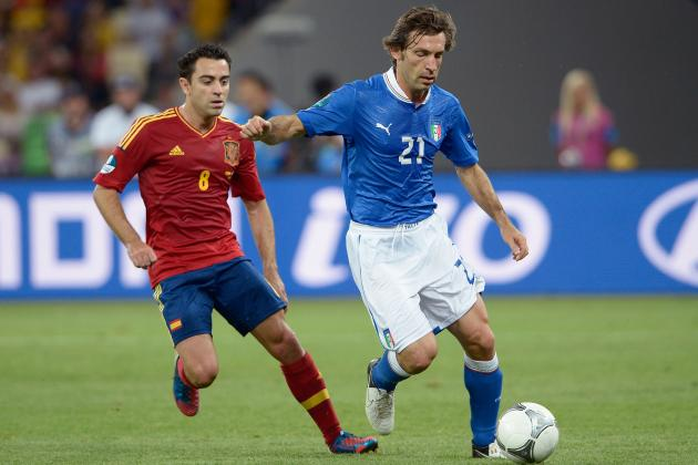 5 Things Italy's Andrea Pirlo Does Better Than Spain's Xavi