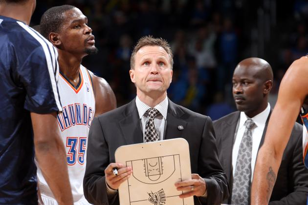 Grading Scott Brooks' Season for the OKC Thunder so Far