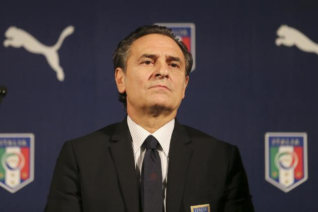 5 Things Italy Coach Cesare Prandelli Should Experiment with vs. Spain