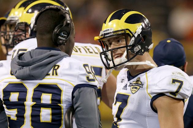 Michigan Football: Shane Morris Spring Practice Update