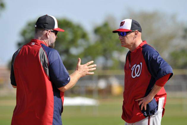 Projecting Nationals' Final 25-Man Roster at the Start of Spring Training