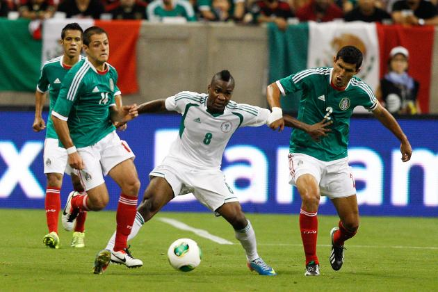 How Mexico Will Line Up Against Nigeria