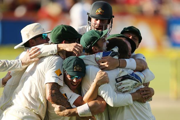 South Africa vs. Australia: Player Ratings for Baggy Greens After 3rd Test