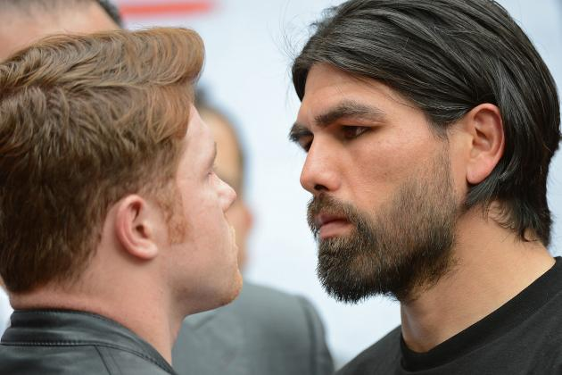 Canelo vs. Angulo and the 5 Greatest All-Mexican Rivalries in Boxing History
