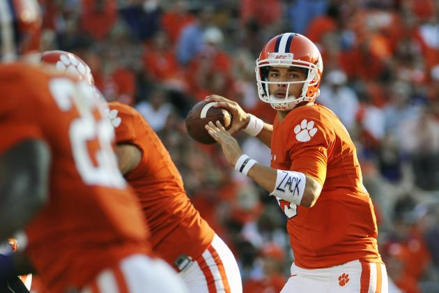 Six Spring Practice QB Battles with National Championship Implications