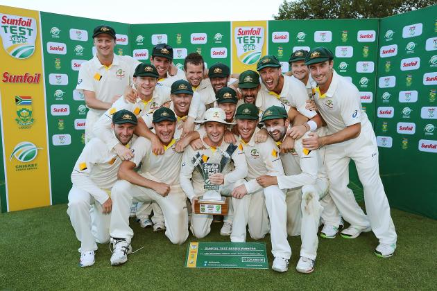 South Africa vs. Australia: Ranking All 28 Players in the 2014 Test Series