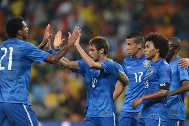 International Friendly Team of the Week: Neymar, Ronaldo and Iniesta Star