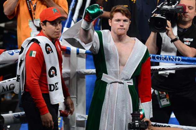 Ranking the 10 Best Knockouts of Canelo Alvarez's Career