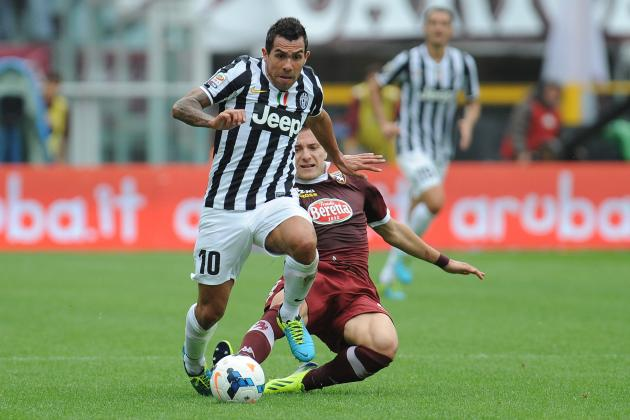 Carlos Tevez, Gonzalo Higuain and the Capocannoniere Contenders