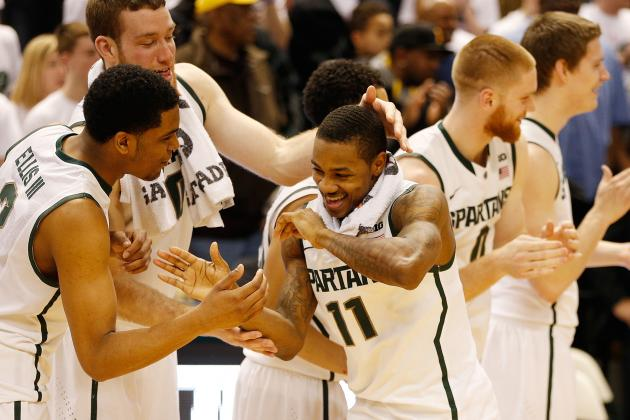 Michigan State Basketball: The 5 Most Impressive Spartans in 2013-14
