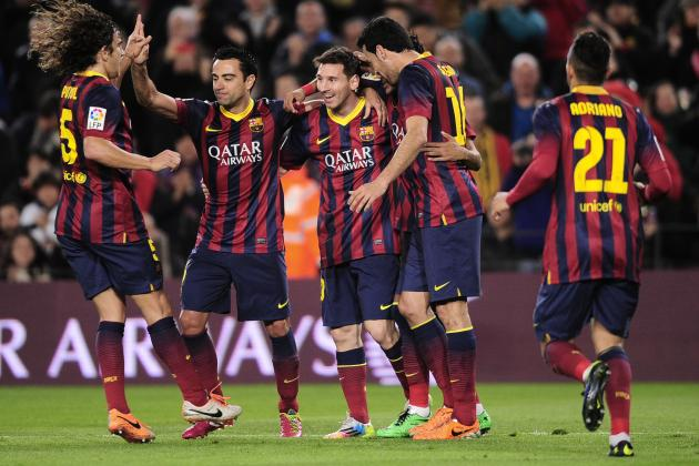 Ranking Barcelona's Top 10 Performances This Season