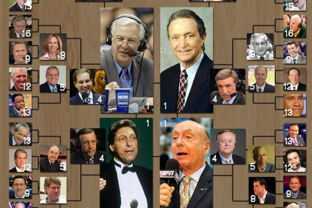 The Top 64 NCAA College Basketball Announcers of All Time
