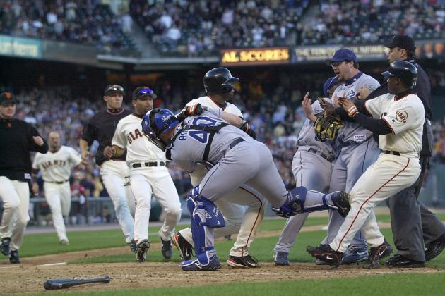Top 10 Moments in Giants-Dodgers Rivalry