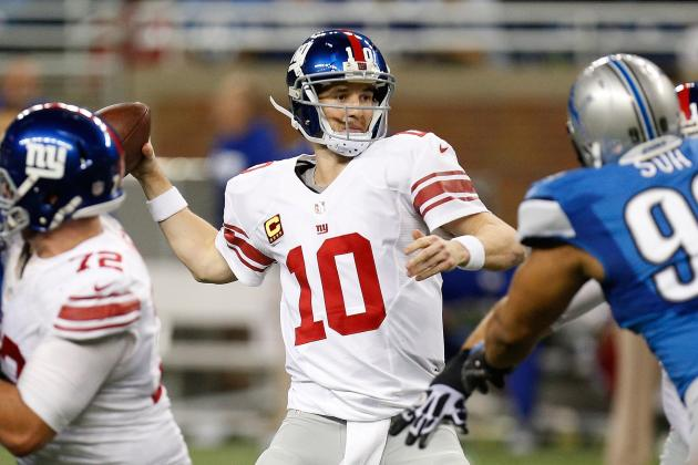 Giants by the Numbers: 2013 Stats New York Must Improve in 2014