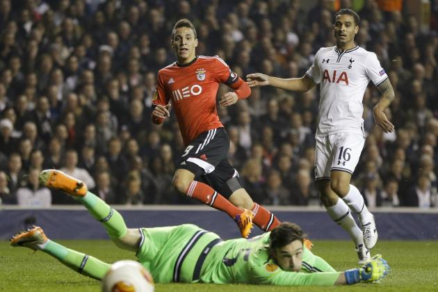 Tottenham Hotspur vs. Benfica: 6 Things We Learned