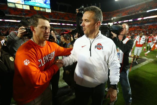 Ranking the Top 25 College Football Coaches Heading into 2014