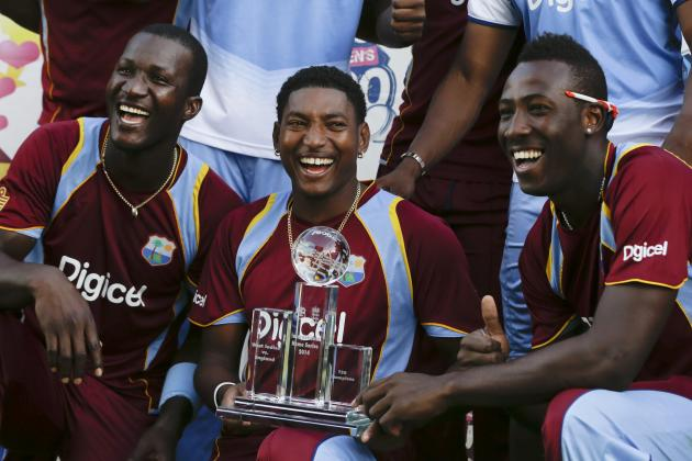 West Indies vs. England: Ranking All 34 Players from the 2014 ODI and T20 Series