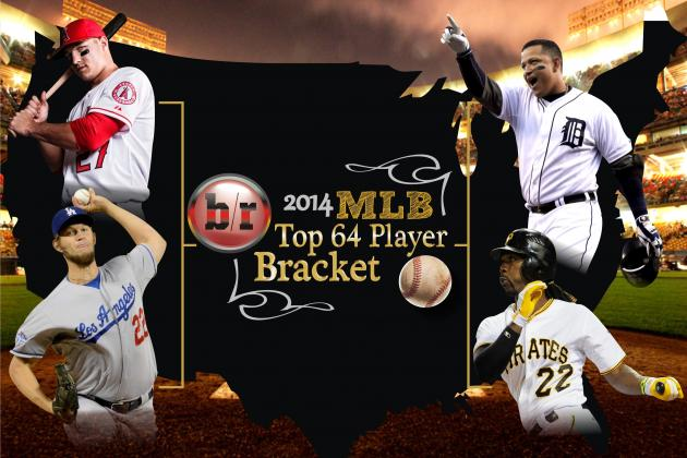 Selecting a March Madness Bracket of MLB's 64 Best Players