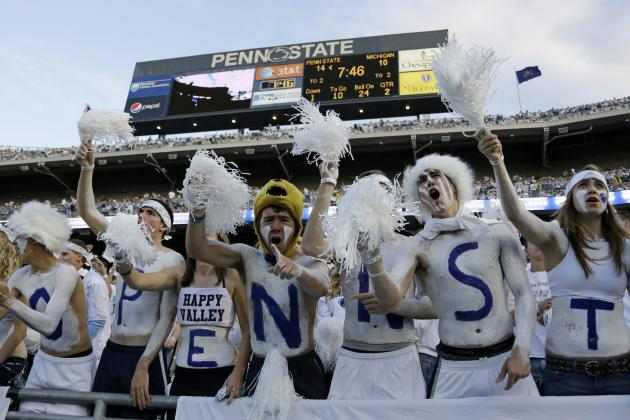 Penn State Football: Ranking the Hardest Games of the 2014 Schedule